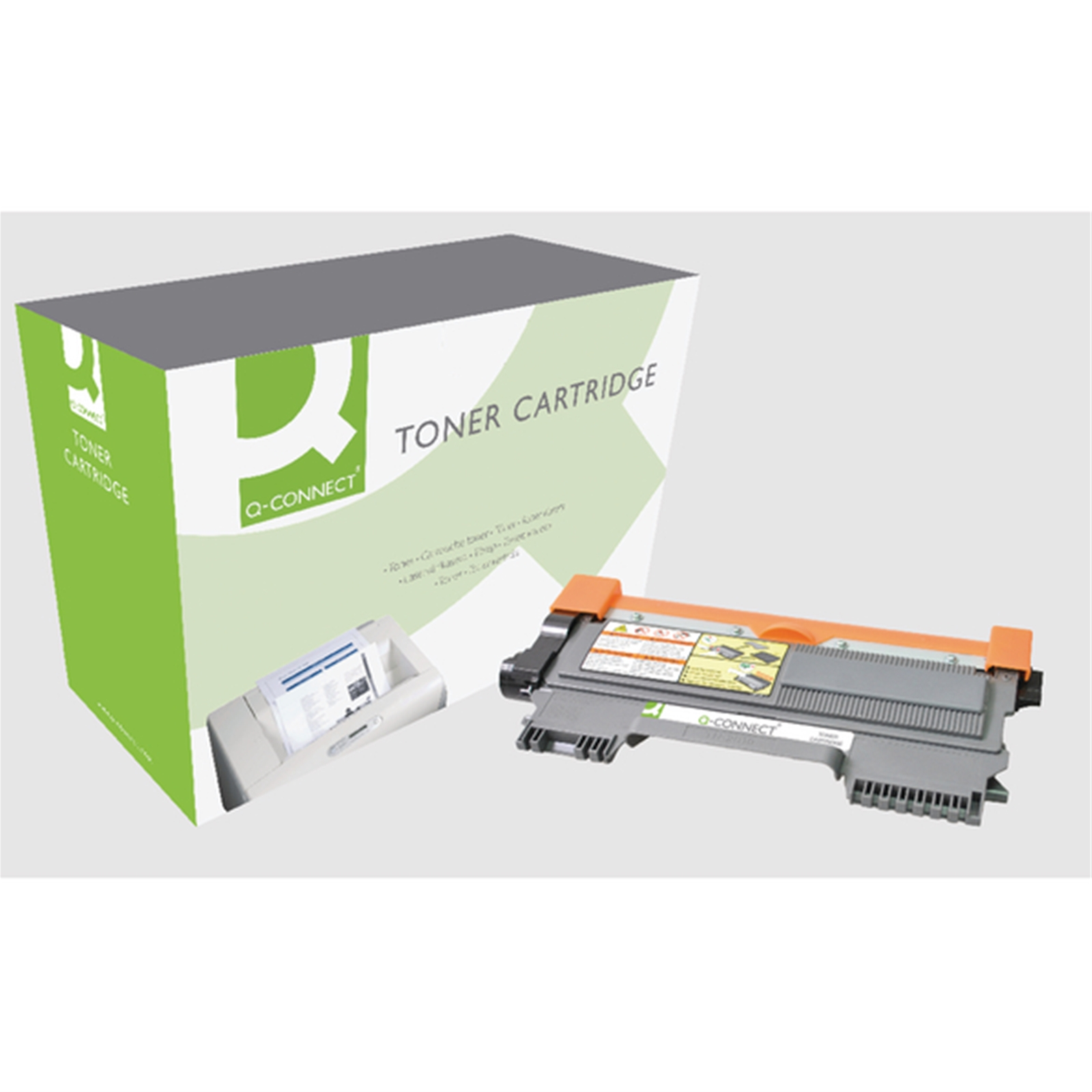 q connect brother compatible laser toners tn2010 comp Printer Printing Blank Pages CD Printing Printers