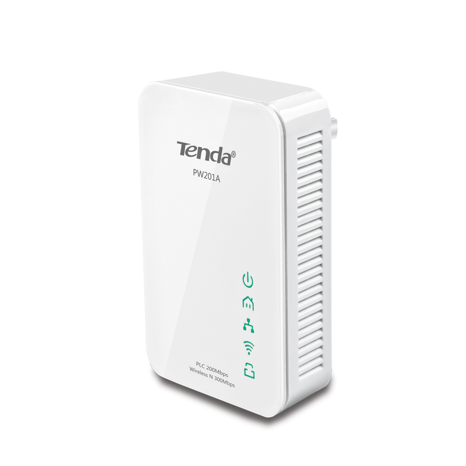 Tenda Wireless Pw201a Powerline N300 Extender Serversplus