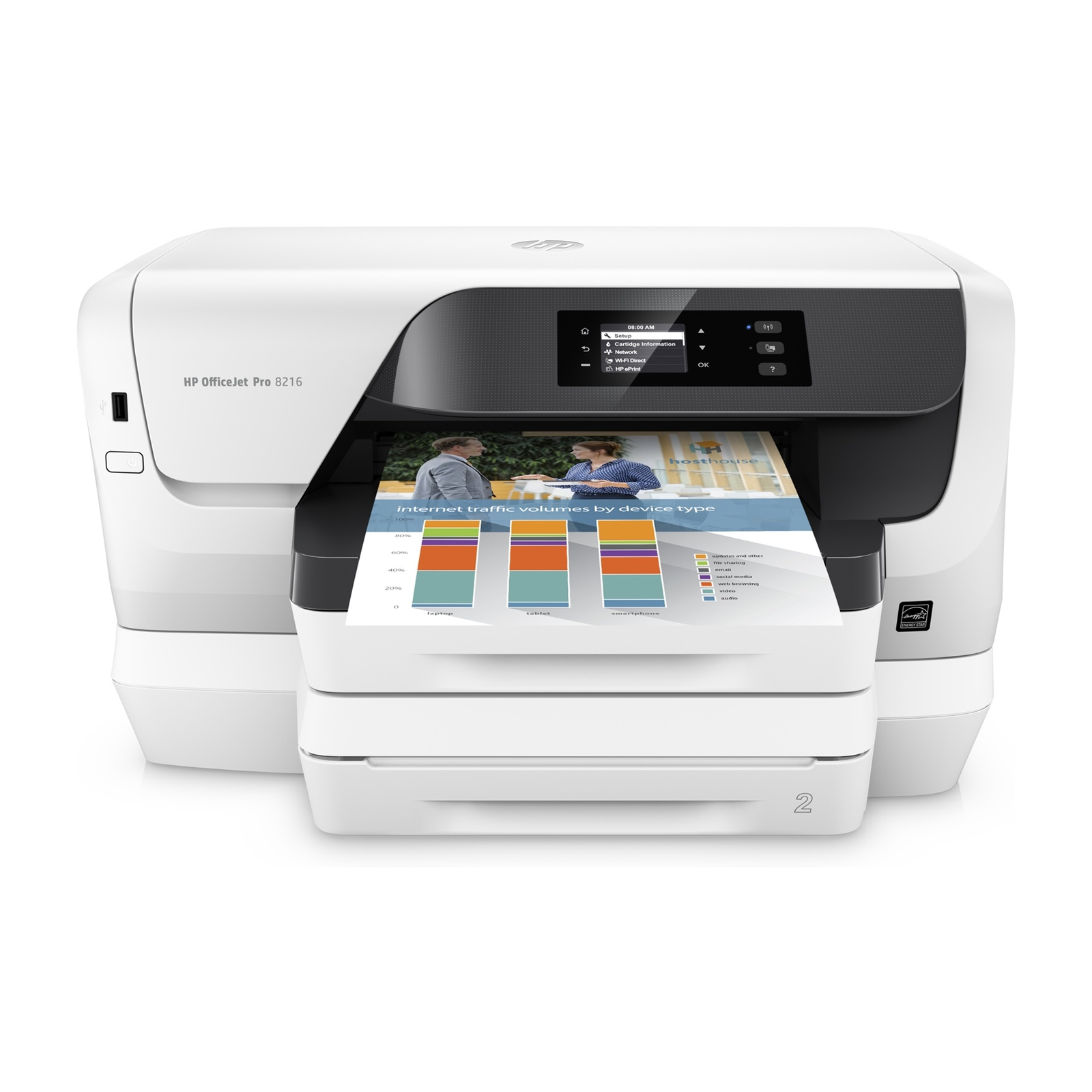 Hewlett Packard InkJet Printers J3P68A#A81 | Servers Plus