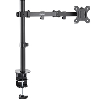 Monitor Desk Mounts & Brackets | VONHAUS VonHaus Single Arm Desk Mount | 05/115 | ServersPlus