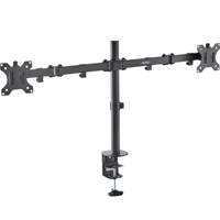 Monitor Desk Mounts & Brackets | VONHAUS  Double Arm Desk Mount | 05/116 | ServersPlus