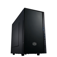 PC Cases | COOLER MASTER Cooler Master Silencio 352 Micro Tower 2 x USB 3.0 / 1 x USB 2.0 Soundproof Black Case | SIL-352M-KKN1 | ServersPlus