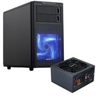 PC Cases | GIGABYTE Gigabyte Horus M Micro Tower 2 x USB 3.0 / 2 x USB 2.0 Black Case with Gigabyte Hercules Pro 500W PS | GZ-ZHSLWD/ETS50N-C2 | ServersPlus
