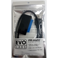 PC Enclosures & Brackets | EVO LABS  USB3.0 to SATA Cable | US002-SU3 | ServersPlus