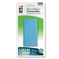 PC Cleaning Products | COLORWAY Multipurpose Double Sided Microfibre Cleaning Wipe | CW-6108 | ServersPlus