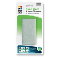 PC Cleaning Products | COLORWAY Nano-cloth for Screen and Monitor Cleaning | CW-6109 | ServersPlus