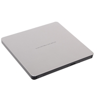 PC External Optical Drives | LG SE-208GB Silver Slim External Optical Drive | GP60NS60 | ServersPlus
