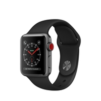 Apple Watches (Smartwatches) | APPLE Watch Series 3 38mm Space Grey GPS+Cell | MQKG2B/A | ServersPlus