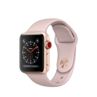 Apple Watches (Smartwatches) | APPLE Watch Series 3 38mm Gold GPS+Cell - MQKH2B/A | MQKH2B/A | ServersPlus