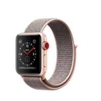 Apple Watches (Smartwatches) | APPLE Watch Series 3 38mm Gold GPS+Cell - MQKL2B/A | MQKL2B/A | ServersPlus