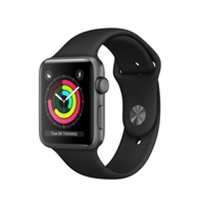 Apple Watches (Smartwatches) | APPLE Watch Series 3 42mm Space Grey GPS - MQL12B/A | MQL12B/A | ServersPlus