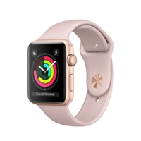 Apple Watches (Smartwatches) | APPLE Watch Series 3 42mm Gold GPS - MQL22B/A | MQL22B/A | ServersPlus