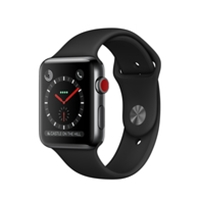 Apple Watches (Smartwatches) | APPLE Watch Series 3 42mm Space Black GPS+Cell - MQM02B/A | MQM02B/A | ServersPlus