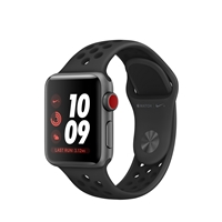 Apple Watches (Smartwatches) | APPLE Watch Nike+ Series 3 38mm Space Grey GPS+Cell -  MQM82B/A | MQM82B/A | ServersPlus