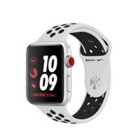 Apple Watches (Smartwatches) | APPLE Watch Nike+ Series 3 42mm Silver GPS+Cell - MQME2B/A | MQME2B/A | ServersPlus