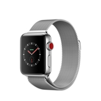 Apple Watches (Smartwatches) | APPLE Watch Series 3 38mm Steel GPS+Cell - MR1N2B/A | MR1N2B/A | ServersPlus