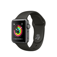 Apple Watches (Smartwatches) | APPLE Watch Series 3 38mm Space Grey GPS | MR352B/A | ServersPlus