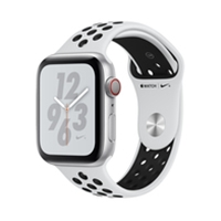 Apple Watches (Smartwatches) | APPLE Nike+ Series 4 GPS 44mm Silver | MTXK2B/A | ServersPlus