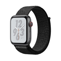 Apple Watches (Smartwatches) | APPLE Nike+ Series 4 GPS CELL 44mm Space Grey | MTXL2B/A | ServersPlus