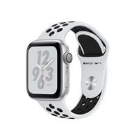 Apple Watches (Smartwatches) | APPLE Nike+ Series 4 GPS 40mm Silver | MU6H2B/A | ServersPlus