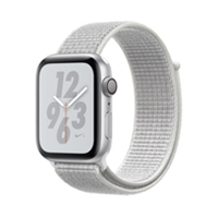 Apple Watches (Smartwatches) | APPLE Nike+ Series 4 GPS 44mm Silver | MU7H2B/A | ServersPlus