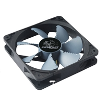 PC Case Fans | AKASA  Piranha 120mm 1900RPM Air Ripper Blade Design Silent Black Fan | AK-FN072 | ServersPlus