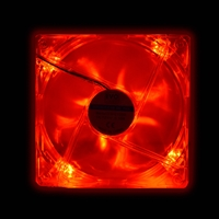PC Case Fans | EVO LABS Evo Labs 120mm 1000RPM Red LED OEM Fan | EVOFAN12R3 | ServersPlus