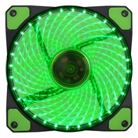 PC Case Fans | EVO LABS  Vegas 120mm 1300RPM Green LED Fan | FX120-32G | ServersPlus