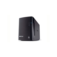 External Hard Drives | BUFFALO DriveStation Duo USB 3.0 | HD-WL4TU3R1-EB | ServersPlus