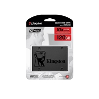PC Internal Hard Drives & SSD | KINGSTON SSDNow A400 120GB SATA III Solid State Drive | SA400S37/120G | ServersPlus
