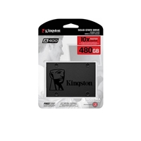 PC Internal Hard Drives & SSD | KINGSTON SSDNow A400 480GB SATA III Solid State Drive | SA400S37/480G | ServersPlus