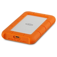 External Hard Drives | LACIE 4TB Rugged USB-C | STFR4000800 | ServersPlus