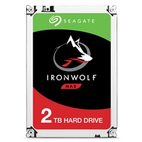 Seagate Hard Drives | SEAGATE Seagate IronWolf 2TB NAS Hard Drive 3.5