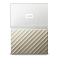 External Hard Drives | WD My Passport Ultra 2TB White Gold - WDBFKT0020BGD-WESN | WDBFKT0020BGD-WESN | ServersPlus