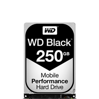 Western Digital Hard Drives | WD 250GB Black 2.5