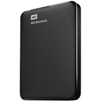 External Hard Drives | WD 1TB WD Elements Portable -  WDBUZG0010BBK-WESN | WDBUZG0010BBK-WESN | ServersPlus