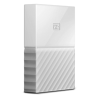 External Hard Drives | WD 3TB My Passport White Portable External Hard Drive WDBYFT0030BWT-WESN | WDBYFT0030BWT-WESN | ServersPlus
