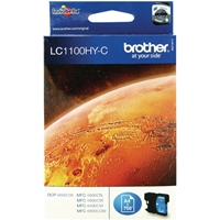 Brother Original Inkjet Cartridges | BROTHER LC1100HYC INKJET CART HY CYAN | LC1100HYC | ServersPlus