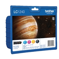 Brother Original Inkjet Cartridges | BROTHER Original INK VALUE PACKKCMY LC1240VALBP | LC1240VALBP | ServersPlus
