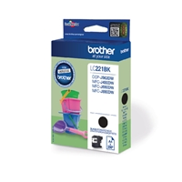Brother Original Inkjet Cartridges | BROTHER Original INK CARTRIDGE BLACK LC221BK | LC221BK | ServersPlus