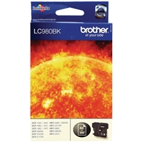 Brother Original Inkjet Cartridges | BROTHER Original INK CARTRIDGE BLACK LC980BK | LC980BK | ServersPlus