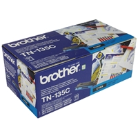 Brother Original Laser Toners | BROTHER TN135C TONER CARTRIDGE CYAN HY | TN135C | ServersPlus