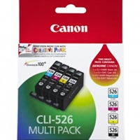 Canon Original Inkjet Cartridges | CANON Original PHOTO VALUE PACK C/M/Y/K CLI-526 4540B017 | 4540B017 | ServersPlus