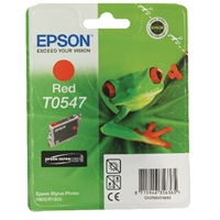 Epson Original Inkjet Cartridges | EPSON Original R800 INKJET CARTRIDGE RED C13T0547 C13T05474010 | C13T05474010 | ServersPlus