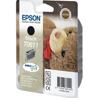Epson Original Inkjet Cartridges | EPSON Original D68/88 DX3800/4800 INKJET CART BLACK C13T06114010 | C13T06114010 | ServersPlus