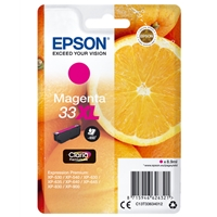 Epson Original Inkjet Cartridges | EPSON 33XL MAGENTA INKJET CARTRIDGE | C13T33634012 | ServersPlus