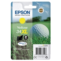 Epson Original Inkjet Cartridges | EPSON Original YELLOW 34XL DURABRITE INK C13T34744010 | C13T34744010 | ServersPlus