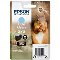 Epson Original Inkjet Cartridges | EPSON 378 LIGHT CYAN HD INKJET CARTRIDGE | C13T37854010 | ServersPlus