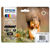 Epson Original Inkjet Cartridges | EPSON 378 PHOTO HD INKJET CARTRIDGE PK6 | C13T37884010 | ServersPlus