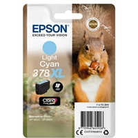 Epson Original Inkjet Cartridges | EPSON 378XL LT CYN PHOTO HD INKJETCART | C13T37954010 | ServersPlus